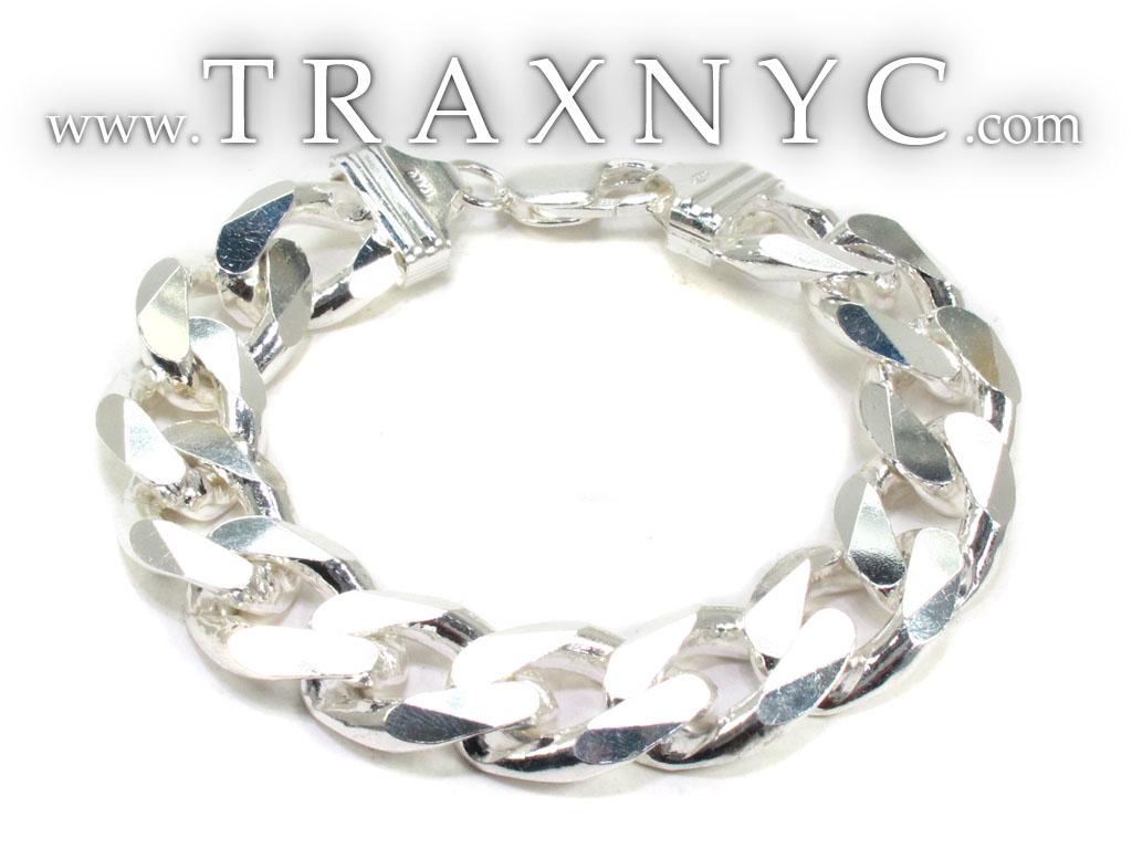 Mens Silver Bracelet 21703 Mens Sterling Silver Bracelet ...