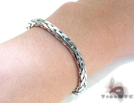 Mens Silver Bracelet 21825 Silver