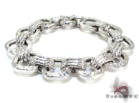 Ladies Silver Bracelet 21829 Silver & Stainless Steel