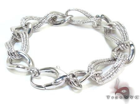 Ladies Silver Bracelet 21835 Silver & Stainless Steel