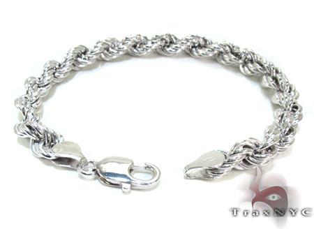 Ladies Silver Bracelet 21840 Silver & Stainless Steel
