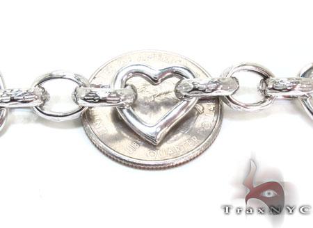 Ladies Silver Bracelet 21842 Silver & Stainless Steel