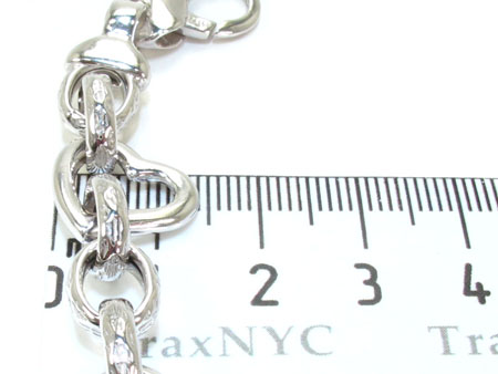 Ladies Silver Chain 18 Inches 14mm 41.1 Grams Silver