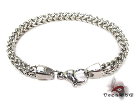 Mens Stainless Steel Bracelet 21451 Stainless Steel