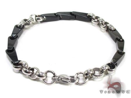 Mens Stainless Steel Bracelet 21715 Stainless Steel