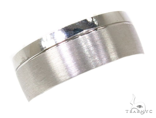 Mens Two Sided Wedding Band 39500 メンズ ゴールド 結婚指輪