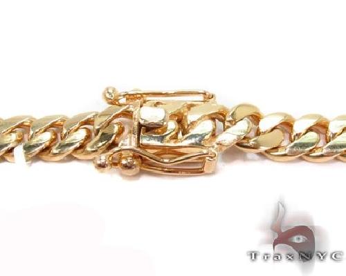 Miami Cuban Curb Link Chain 24 Inches 6.5mm 83.10 Grams 63887 Gold