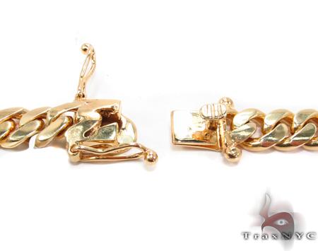 Miami Cuban Curb Link Chain 30 Inches 11mm 251.4 Grams Gold