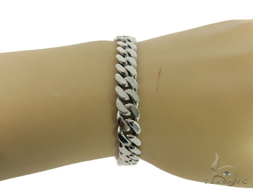 Miami Cuban Gold Bracelet 56396 Gold