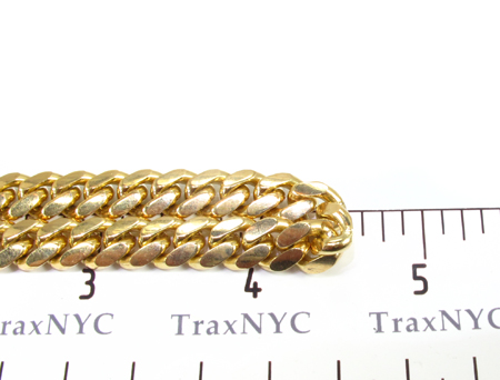 Miami Cuban Link Bracelet 9 Inches 6mm 26.6 Grams Gold