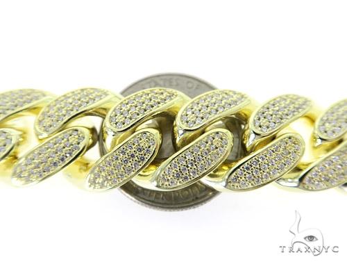 Miami Cuban Silver Bracelet 49854 Silver