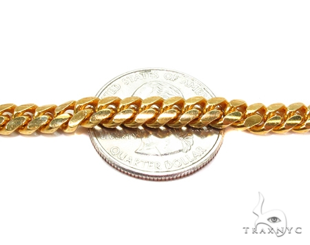 Miami Cuban Silver Chain 30 Inches 6mm 74.2 Grams 42291 Silver