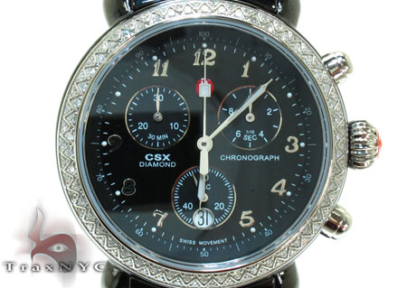 Michele CSX Ceramic Watch MWW03N000003 Michele Diamond Watches