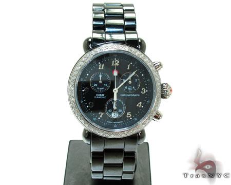 Michele CSX Ceramic Watch MWW03N000003 Michele Diamond Watches