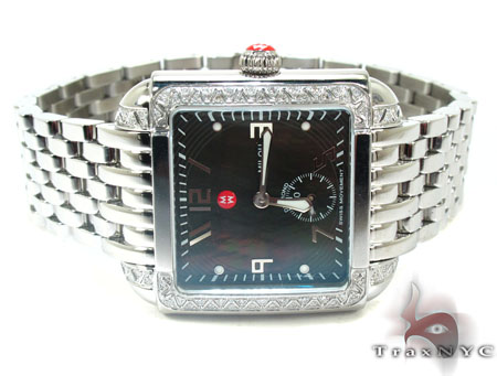 Michele Swiss Milou Diamond Watch MWW15A000049 Michele Diamond Watches