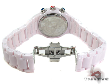 Michele Tahitian Ceramic Ladies Watch MWW12A000004 Michele Diamond Watches