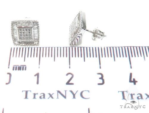 Micro Pave Diamond Earrings 40958 Stone