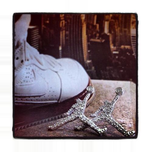 Mini Jordan Earrings Stone