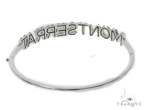 Monsterrat Diamond Bangle Bracelet 49776 Bangle