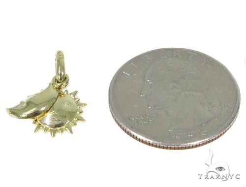 Moon & Sun Gold Pendant 44906 Metal