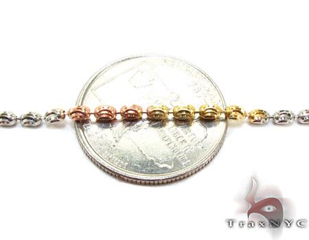Moon Cut Chain 18 Inches, 2mm, 6.0 Grams Silver