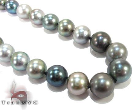 Multi-Color Tahitian Pearl Necklace Pearl