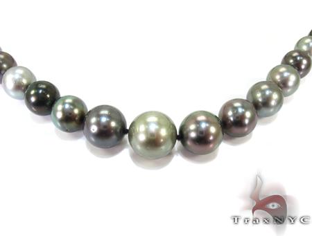 Multi-color Pearl Ladies Necklace 27154 Pearl