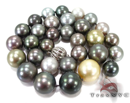 Multi-color Pearl Ladies Necklace 27349 Pearl
