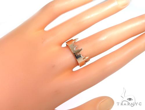 NYC Skyline Rose Gold Ring 45347 Metal