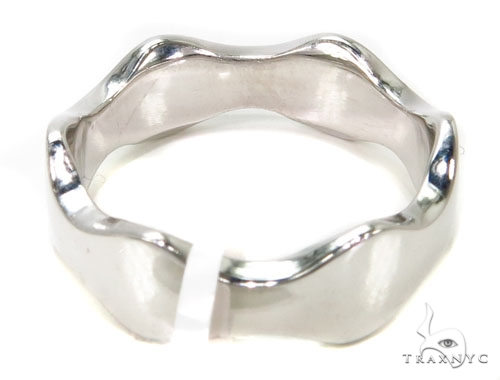 Ocean Wave Gold Ring 40800 Metal