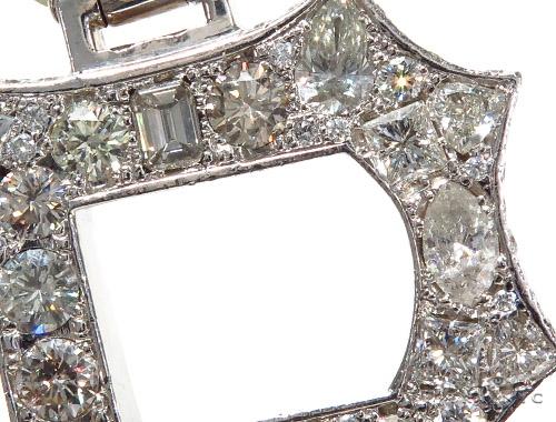 'P' Diamond Pendant 42029 Metal