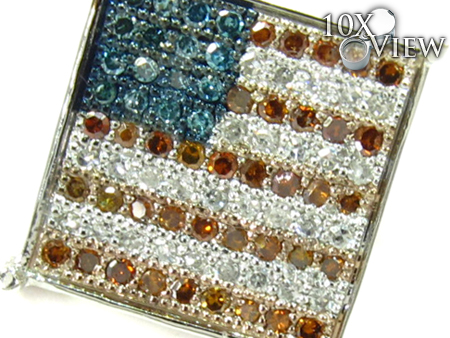 Patriot Single Earring Stone