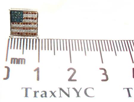Patriot Single Earring Stone