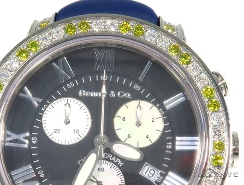 Pave Diamond Benny & Co Watch 45264 Benny & Co