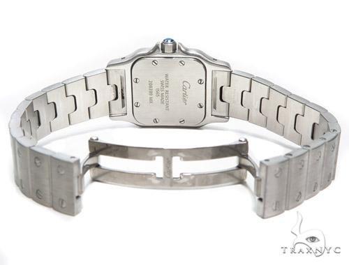 Pave Diamond Cartier Santos Watch 41045 Cartier