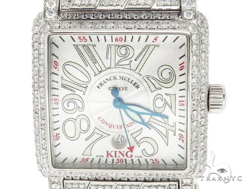 Pave Diamond Franck Muller Conquistador Cortez King Watch 42346 Franck Muller フランクミュラー