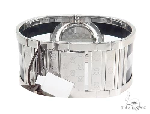 Pave Diamond Gucci 112 Twirl Bangle Ladies Watch YA112414 44148 Gucci
