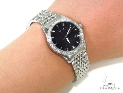 Pave Diamond Gucci Watch Gucci