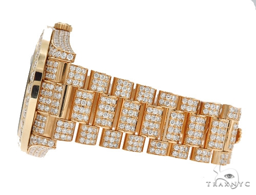 Pave Diamond Rolex Day Date Watch 42350 Diamond Rolex Watch Collection