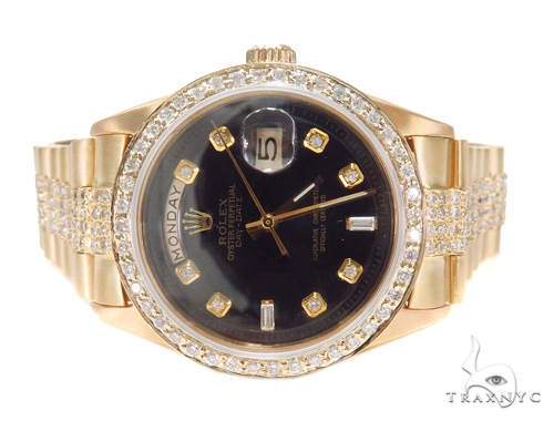Rolex Day-date President Yellow Gold 118238 Diamond Rolex Watch Collection
