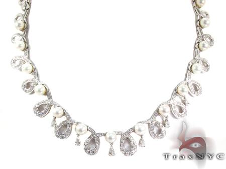 Cerenade Pearl Diamond Necklace ダイヤモンドネックレス