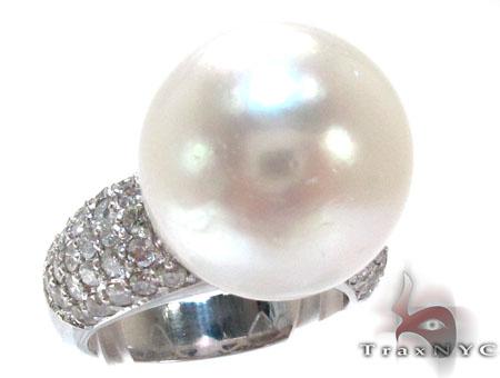 Pearl Diamond Ring 真珠 ダイヤモンド リング