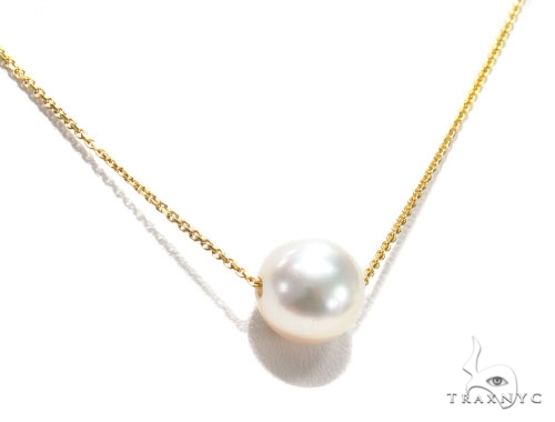 Pearl Necklace and Earring Set 42636 Pearl