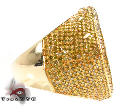 Canary Diamond Phantom Ring Stone