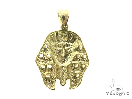 Pharaoh Gold Pendant 49497 Metal
