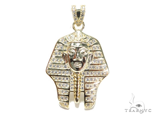 Pharaoh Sterling Silver Pendant 42863 Metal