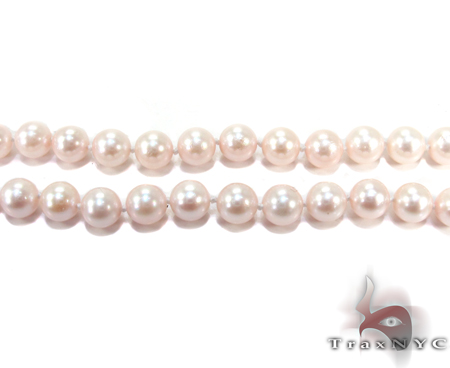 Pink Pearl Necklace 20 Inches Pearl
