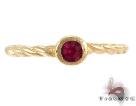 Pink Ruby Ring Anniversary/Fashion