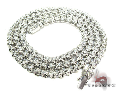 Polar Ice Chain 30 Inches 6mm 85 Grams Diamond