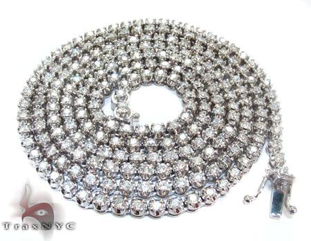 Mini Polar Ice Chain 36 Inches 4mm 57.1 Grams Diamond